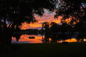 Sunset at Lake Sherwood